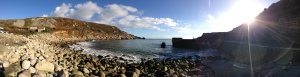 Lamorna Cove - a Saturday in December!