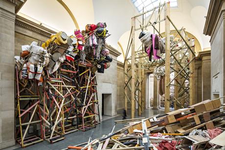 Phyllida Barlow dock 2014 Tate Britain